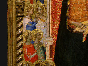 Madonna and Child with Saints and Angels d6