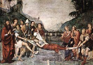 圣塞西莉埋葬