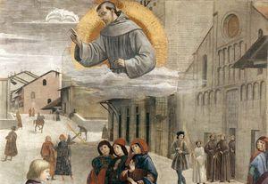 frescoes - Resurrection of the Boy (detail)2