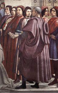 frescoes - Resurrection of the Boy (detail)4