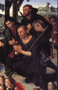 Portinari - The Adoration of the Shepherds (detail)9