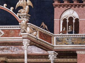Assisi-vault-Flagellation of Christ (detail)