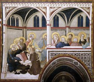 Assisi-vault-The Washing of the Feet