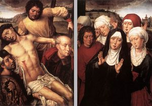 late - Diptych with the Deposition