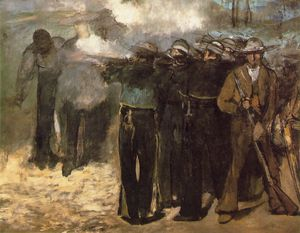 The Execution of Emperor Maximilian (Boston)
