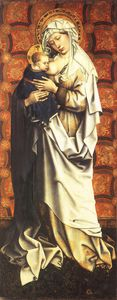 triptych-Virgin and Child
