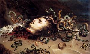 Head of medusa