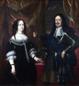 The Grand Duke Ferdinand II of Tuscany and his Wife