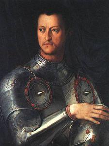 Cosimo de medici in armour