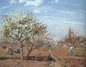 Orchard in Bloom at Louveciennes