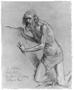 Study for the question of the sphinx