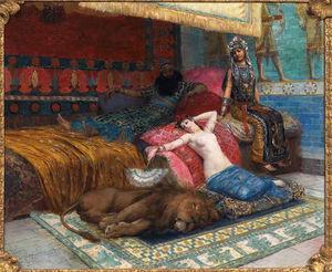 L-esclave et le lion