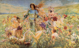 The Knight of the Flowers