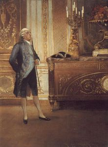 A gentleman wainting in an interior