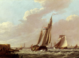Jan hermanus shipping in a choppy estuary