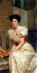 Sir lawrence portrait of mrs charles wyllie