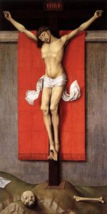 Crucifixion Diptych (right panel)