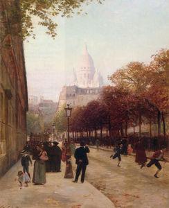 Place DAnvers Et Le Sacre Coeur Paris