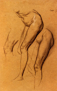 Nude Studies Of Long Mary Two Being Studies For Eve