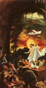 Resurrection, oil on panel, Art History Muse