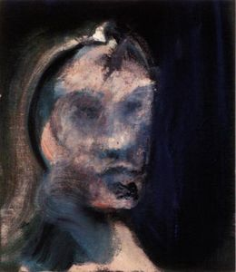 Study for a Portrait [looking left],