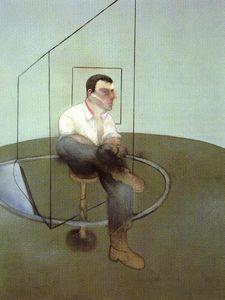 3 Studies for a Portrait of John Edwards, left