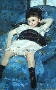 azul sillón