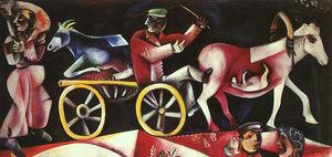 The Cattle Dealer, oil on canvas, Öffentliche