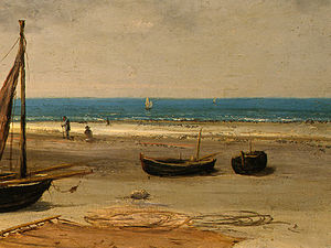 Beach in Normandy, Detalj 4, NG Washingto