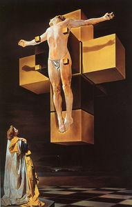 Dalí corpus hypercubus (crucifixion), metropolitan moa