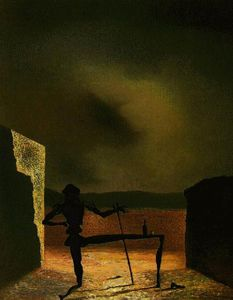 Dalí the ghost of vermeer of delft,1934,