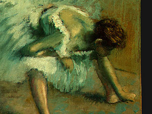 Before the Ballet, detalj 5, NG Washington