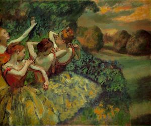 Four dancers, ca National Galler