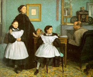 The Bellelli Family, oil on canvas, Musée d'O