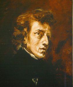 Frédéric chopin, louvre