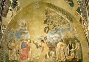 The Arezzo Cycle - Death of Adam