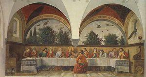 The last supper, ognissanti firenze