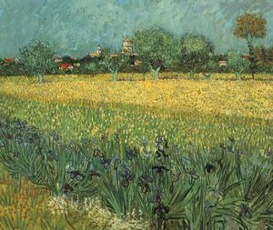 Arles irises