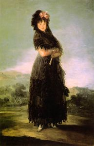 Portrait of Mariana Waldstein, Louvre