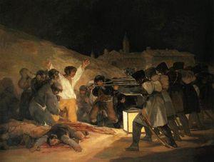 Il tre Maggio (le fucilazioni). . Madrid, Museo d