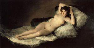 La maja desnuda. . Madrid, Museo del Prado.
