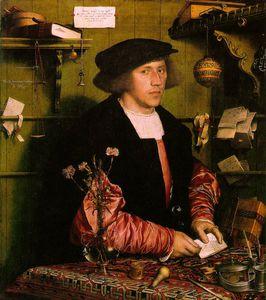 Georg gisze, a german merchant in london gemäld