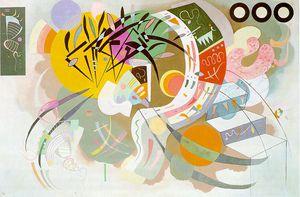 Dominant Curve, oil on canvas, Solomon R. Gu