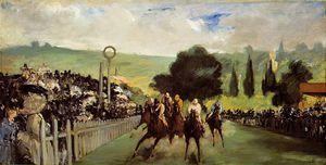 Races at Longchamp, ca The Art Ins