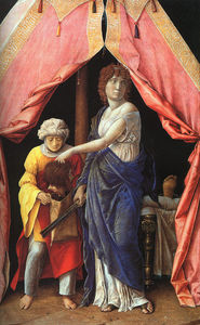 Judith and Holofernes, wood, National Gallery