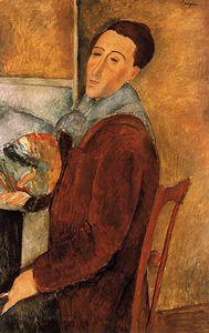 Modigliano Self portrait, San Paolo del Brasile,