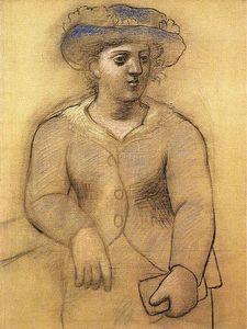 Au femme chapeau