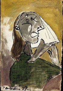 La femme qui pleure ( Dora maar )