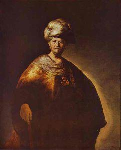 Portrait of a Noble (Oriental) Man