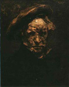 Selfportrait, study, Musée Granet Aix-en-Pro